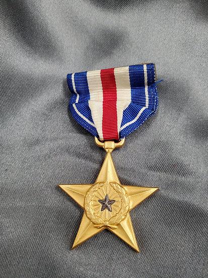 WWII ERA SILVER STAR MEDAL