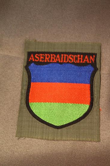 WWII German Volunteer Shield - Aserbaidschan