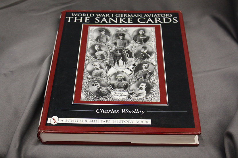 Collection Book - WWI German Aviators - The Sanke Card