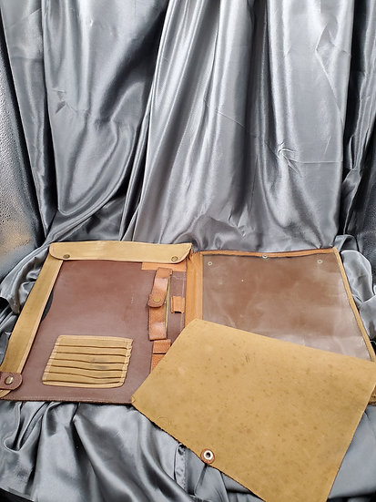 WWI BRITISH MADE OFFICER MAP CASE