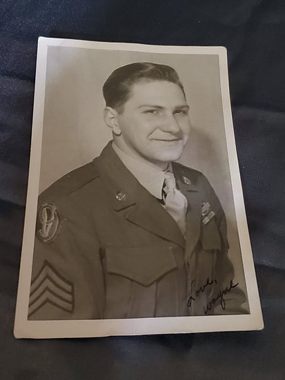 WWII US GI PHOTOGRAPH