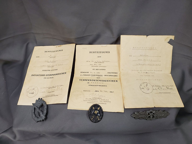 WWII GERMAN MEDAL GROUPING