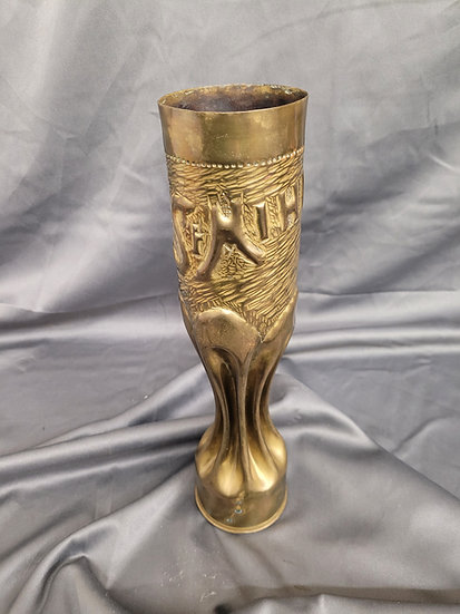 WWI TRENCH ART SHELL  - ST-MIHIEL