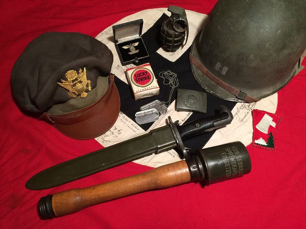 The War Front - WWII Military Antiques for Sale