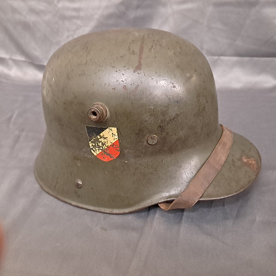WWII GERMAN M16 TRANSITIONAL DOUBLE DECAL HELMET