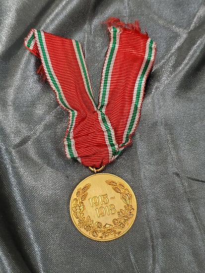 WWI BULGARIAN COMMEMORATIVE MEDAL