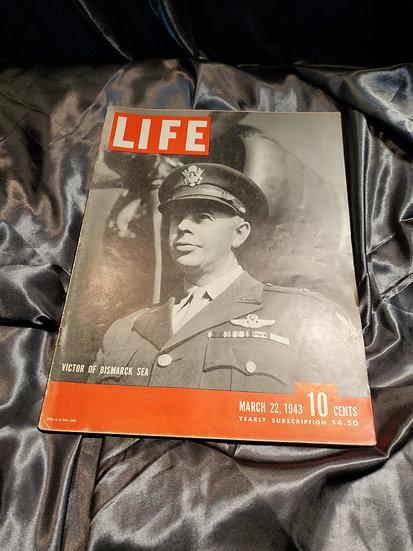 LIFE MAGAZINE MARCH 22 1943