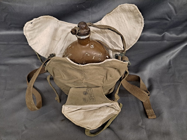 WWII JAPANESE CANTEEN & WINTER COVER