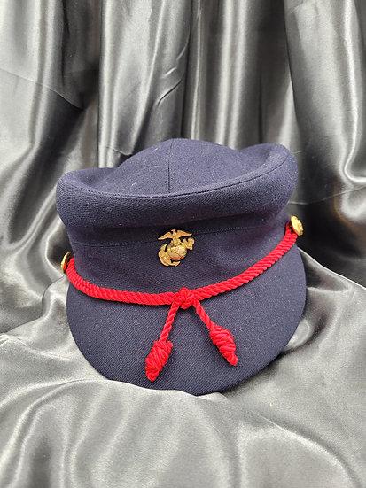 1950'S USMC WOMEN BLUES VISOR CAP