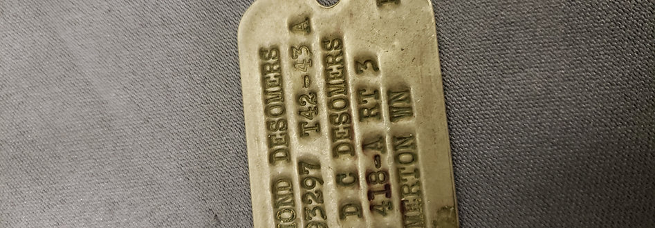Early WWII Dog Tags Reproduction