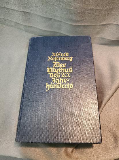 WWII GERMAN BOOK DER MYTHUS DES 20 JAHRHUNDERTS