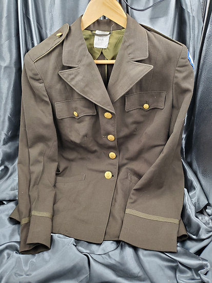 WWII US ARMY NURSE TROPICAL WORSTED JACKET