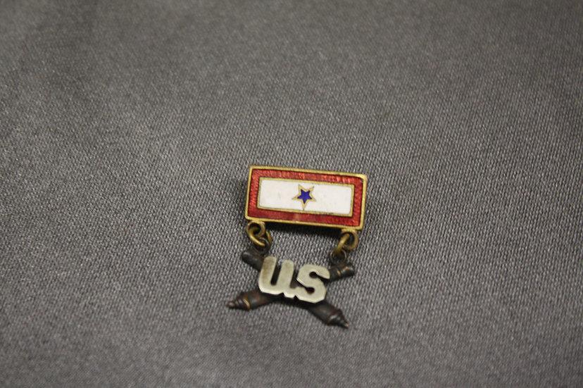 WWII or Earlier Artillery Sweetheart Pin