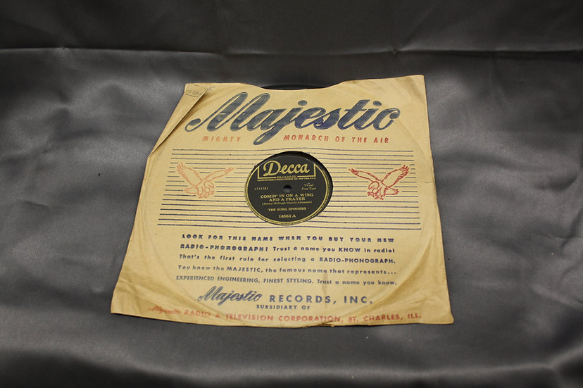 WWII Era Record - The Song Spinners