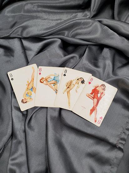 LEGENDARY ALBERTO VARGAS PINUPS ON PLAYING CARDS