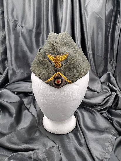 WWII GERMAN MARINE ARTILLERY OVERSEAS CAP