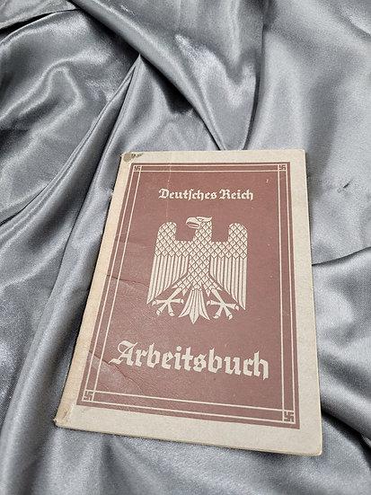 PRE-WWII GERMAN ARBEITSBUCH