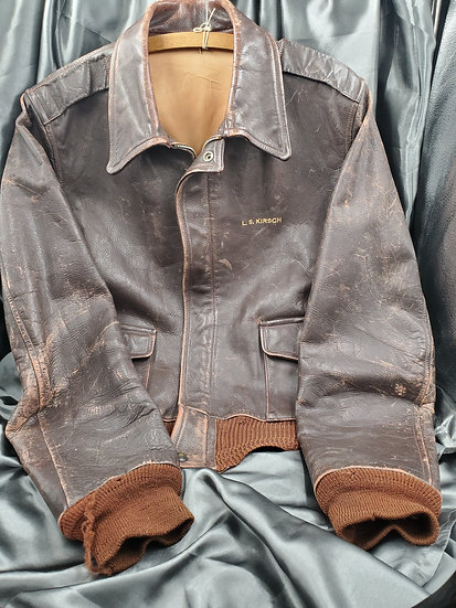 WWII ERA US ARMY AIR FORC NAMED A-2 JACKET