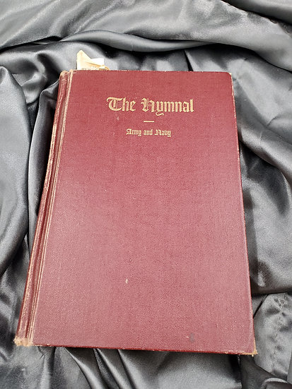WWII THE HYMNAL ARMY & NAVY