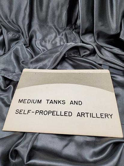 WWII ERA LARGE WORLD NEWS POSTER TANKS & ARTILLERY