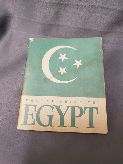 WWII POCKET GUIDE TO EGYPT
