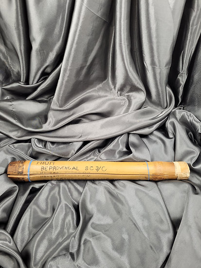 WWII ERA BAMBOO TUBE PACKAGE WITH NEPTUNE CERTIFICATE