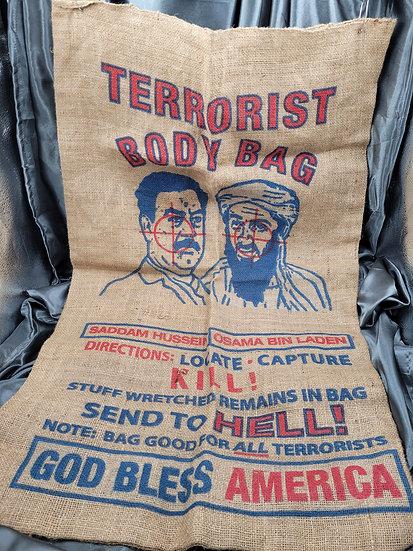 TERRORISTS BODY BAG
