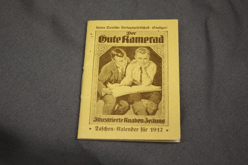 WWI German Tiny Almanac