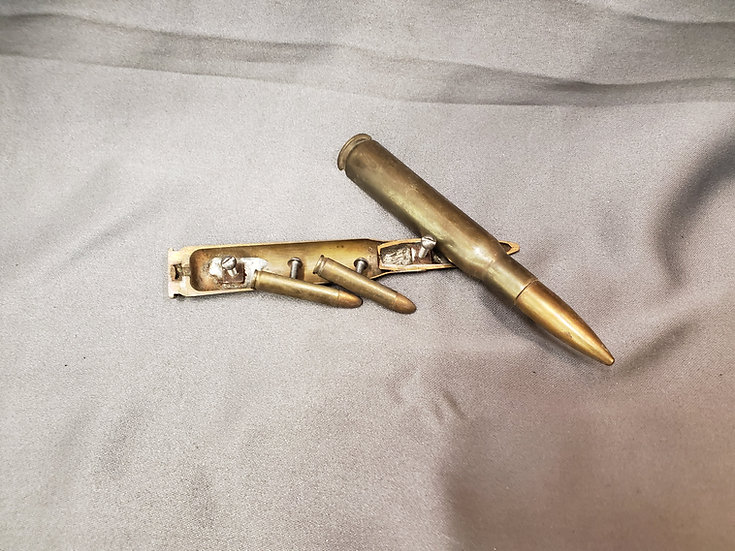WWII TRENCH ART DRAWER PULLS