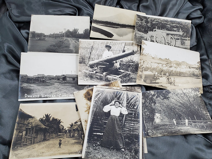 SPANISH AMERICAN WAR ERA PHOTO GROUPING