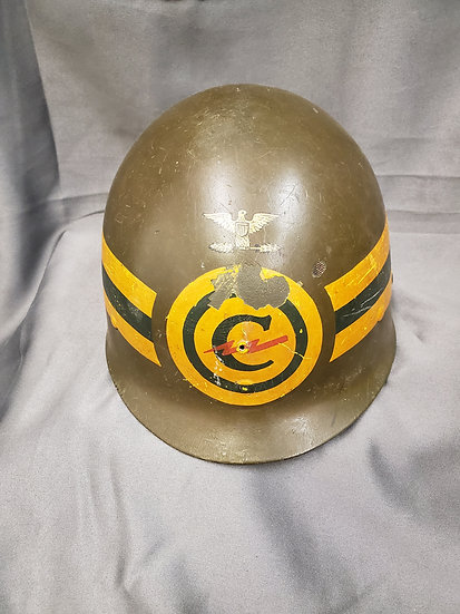 WWII COLONEL CONSTABULARY FORCES HELMET LINER
