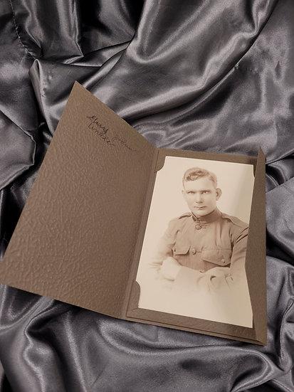 WWI PORTRAIT OF A SOLDIER