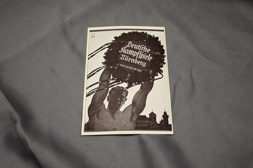WWII German Postcard