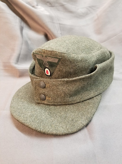 WWII German Army M43 Enlisted Field Cap