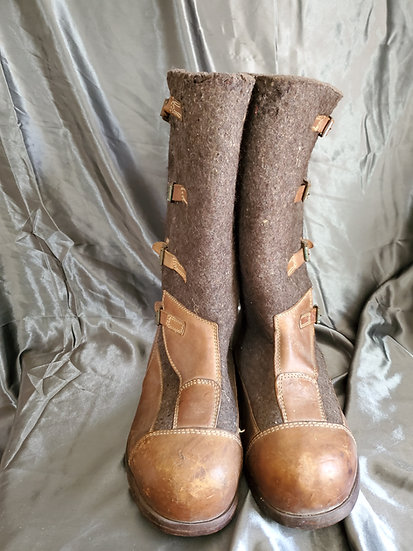 WWII GERMAN EASTERN FRONT SENTRY BOOTS