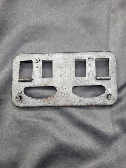 WWII GERMAN NOTEK REAR LAMP FACE PLATE