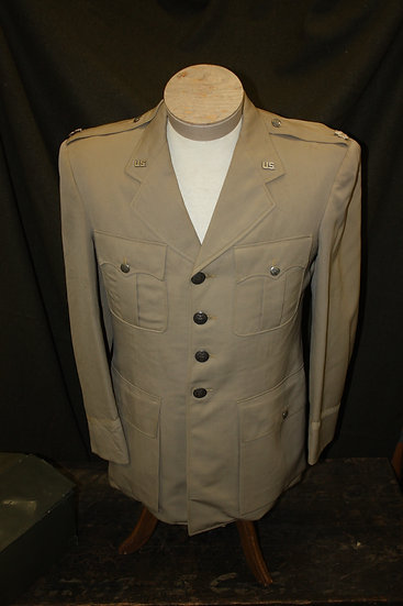 Korean War Silver Tan Uniform