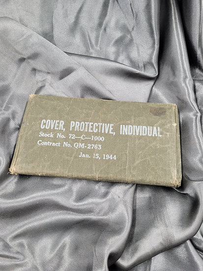 WWII INDIVIDUAL PROTECTIVE COVER