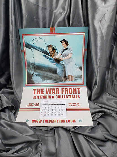MOTORPOOL STYLE 2021 WAR FRONT CALENDAR WITH SAMMIE MARIE