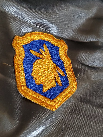 WWII DOUBLE WIDE 98TH DIVISION PATCH