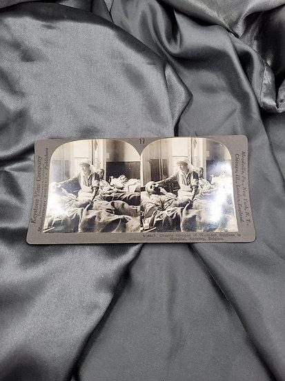 WWI STEREOSCOPE CARD
