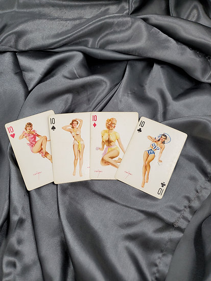 LEGENDARY ALBERTO VARGAS PINUPS ON PLAYING CARDS