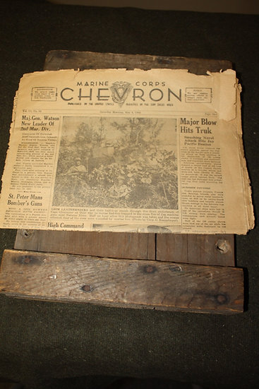 WWII 1944 Dated Issue of the Chevron