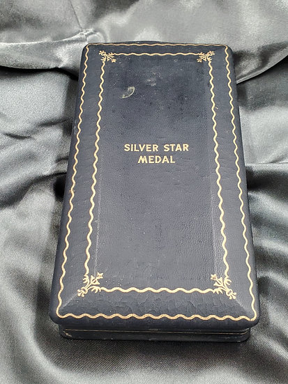 WWII SILVER STAR MEDAL