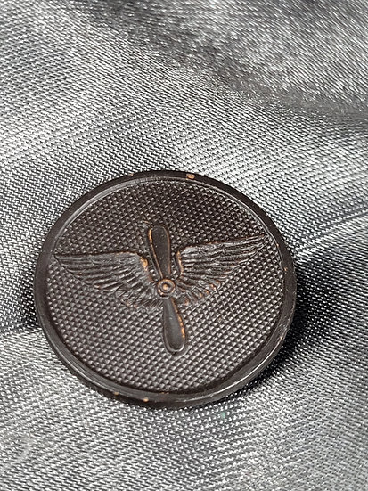 WWI FRENCH MADE AVIATION COLLAR BRASS