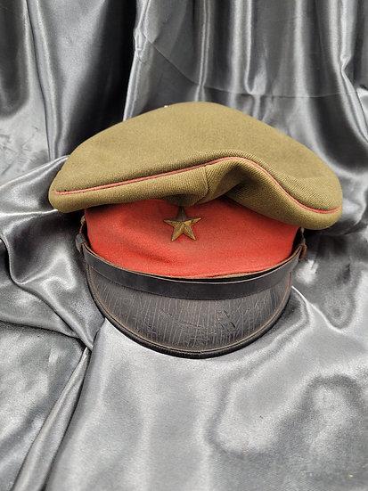 WWII JAPANESE ARMY VISOR CAP