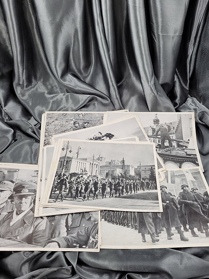 WWII GERMANY LARGE PHOTO PRINT SERIES