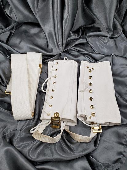 US NAVY DRESS LEGGINGS & BELT