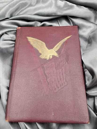 WWII SOLDIERS SOUVENIR BOOK