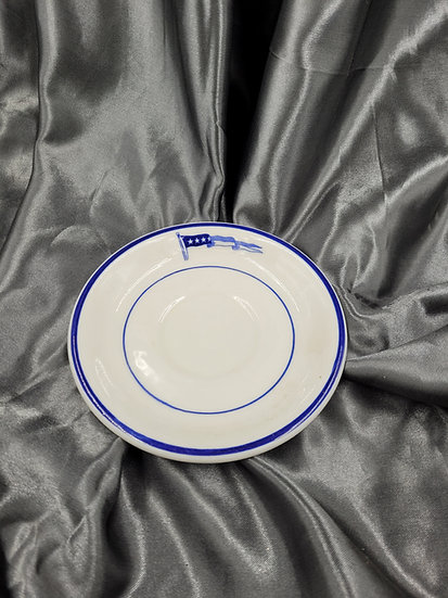 WWII ERA US NAVY CAPTAIN SMALL PLATE